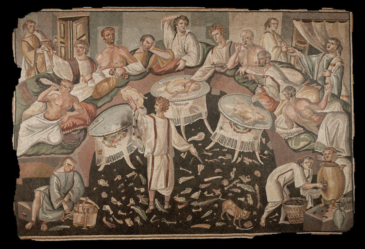 satire in ancient roman period